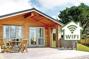 Lodges with Wifi
