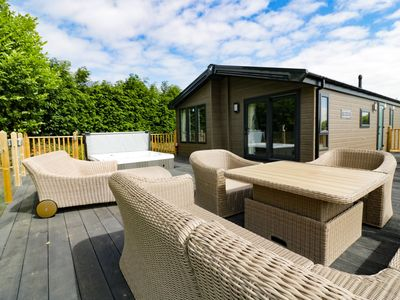 St Day Tourist Park hot tub lodges in cornwall