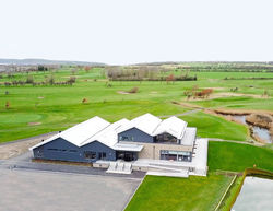 Our well located clubhouse with views across the golf course