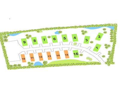 Evergreen Holiday Park site plan