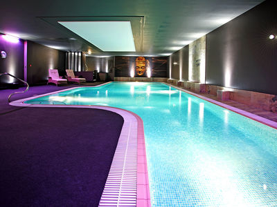 Unwind and excercise in our heated indoor pool