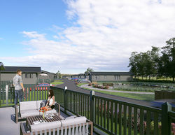 Digital view of new lodge development