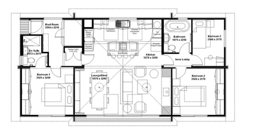 Hunting lodge home plans for Hunting shack floor plans