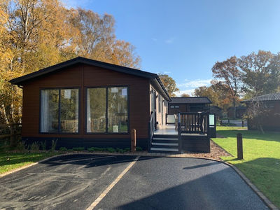 Holiday lodge at Norfolk Woods