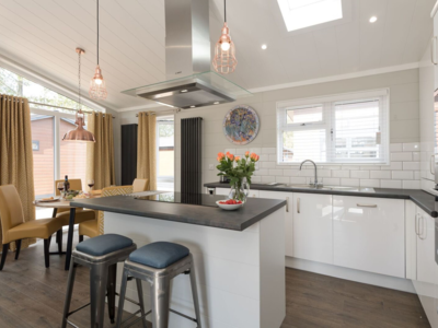 One of many styles of kitchen on offer