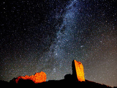 Check out Northumberland's clear sky status