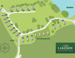 Lakeside Country Club site plan