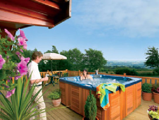 Picture of Belan Bach Lodges, Powys