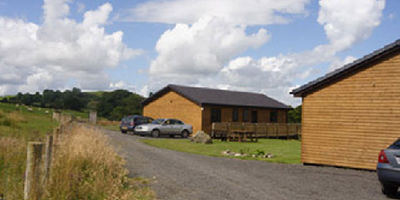 Picture of Bryn Thomas Lodges , Powys, Wales