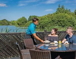 Chichester Lakeside Holiday Park Outdoor Terrace