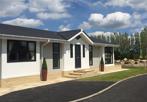 Cleveland hills view holiday park holiday lodge park in for Log cabins for sale north yorkshire