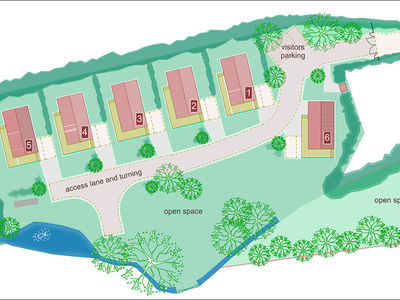 Goose Meadow site plan