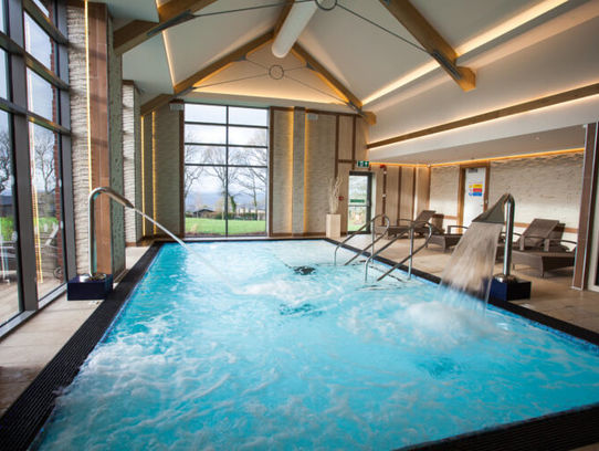 Hawkchurch Resort & Spa Hydrotherapy Pool
