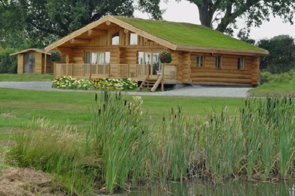 Picture of Heathwaen Log Cabins and fishery, Shropshire