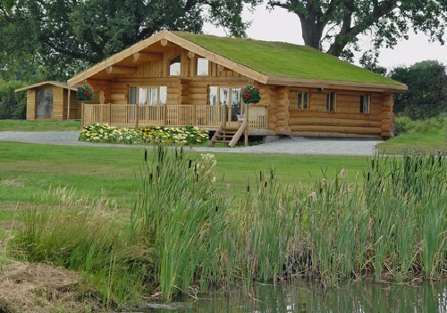 Heathwaen Log Cabins And Fishery Holiday Lodge Park In