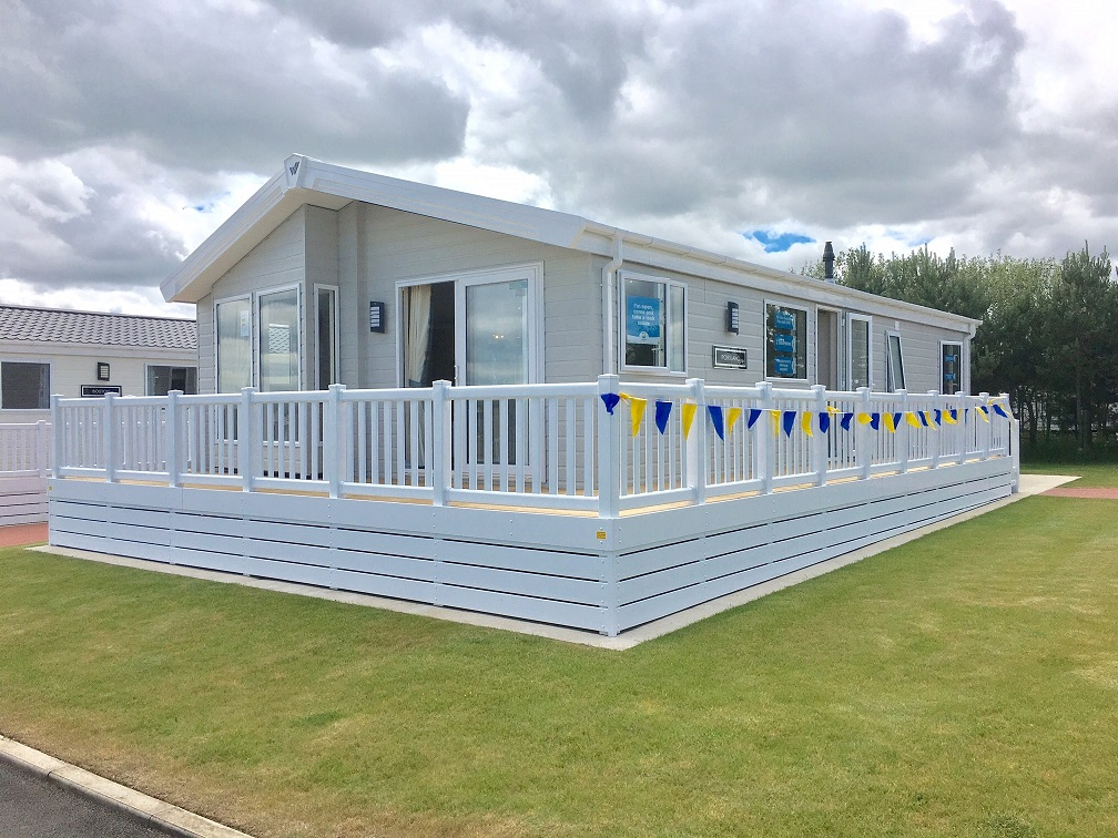 Hornsea leisure park holiday lodge park in east riding for Log cabins for sale north yorkshire