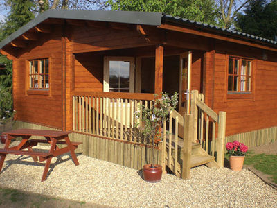 Picture of Oathill Farm Lodges, Somerset, South West England