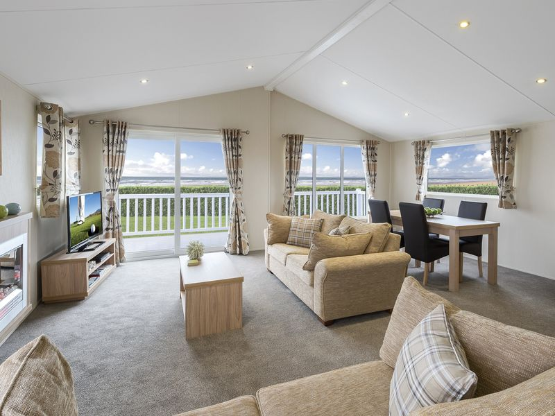 Willerby Clearwater open plan living area