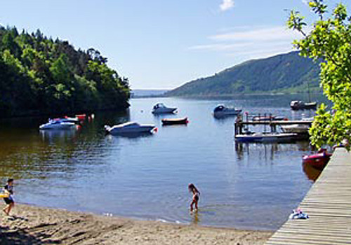 Rowardennan Lodges Holiday Lodge Park In Stirlingshire