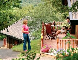 Springwood Lodges Lilleskov patio