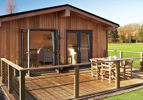 West tanfield luxury lodges holiday lodge park in north for Log cabins for sale north yorkshire