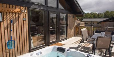 Otterburn Lodges with hot tubs in Northumberland