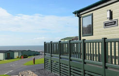 Willerby Clearwater with views of the sea