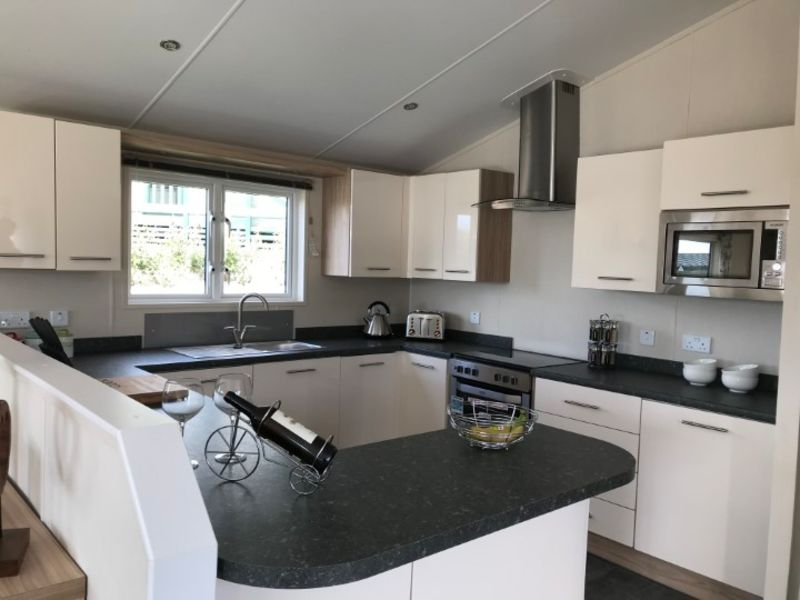 Willerby Clearwater kitchen